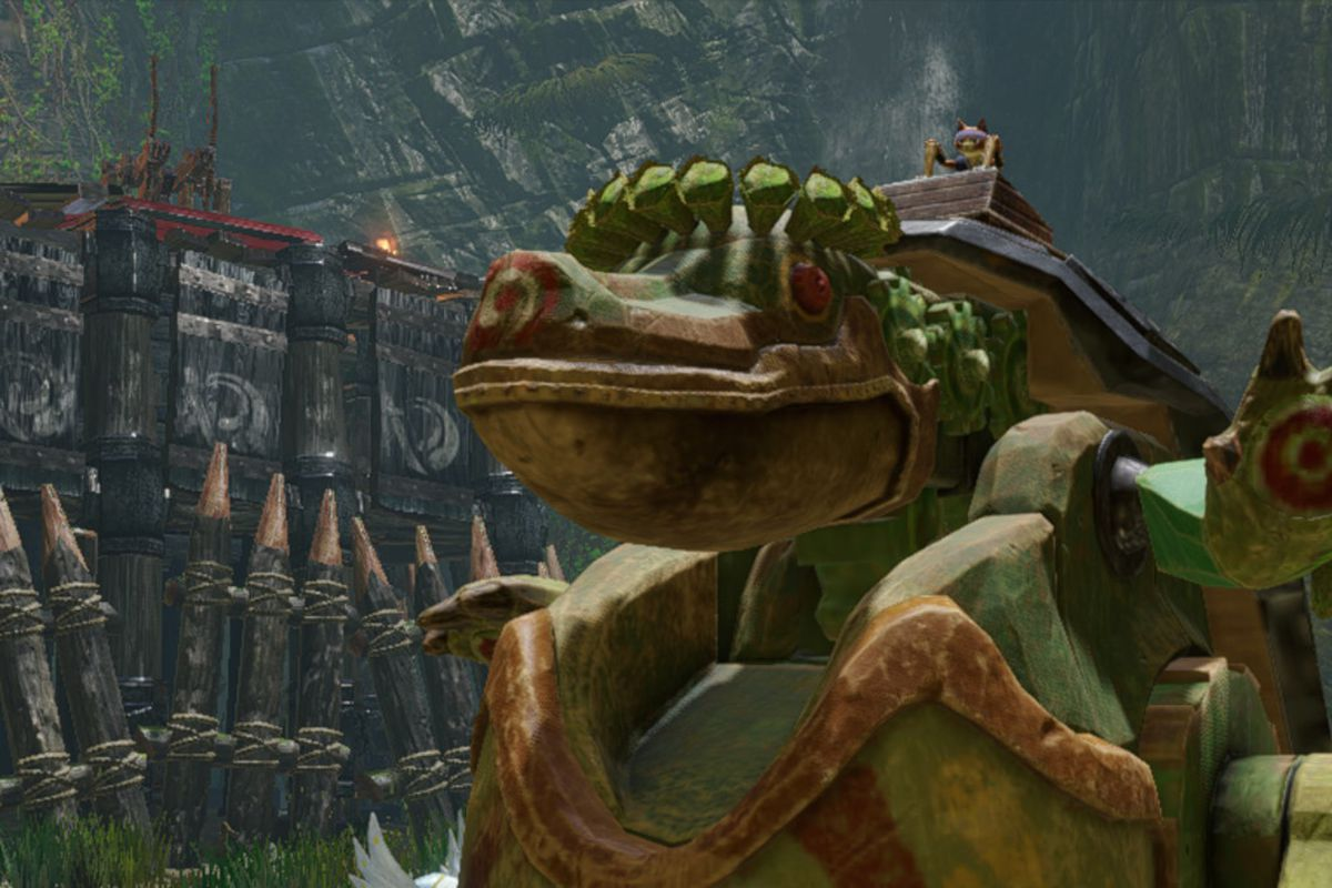 The Toadversary in Monster Hunter Rise