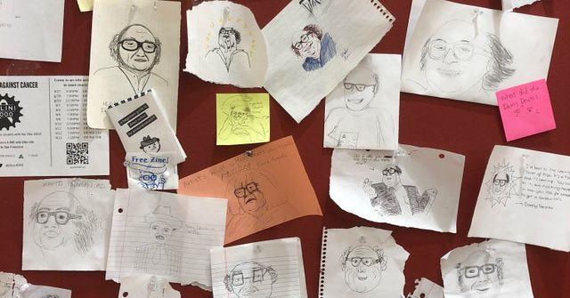 This University Has A 'Draw Danny DeVito Wall' And I Want To Enroll