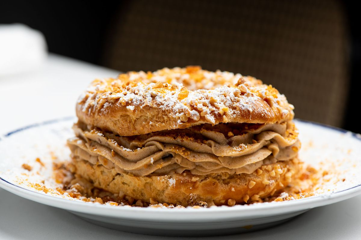 23746224e7e21 All About Paris-Brest, a Pastry Named for a Bicycle Race