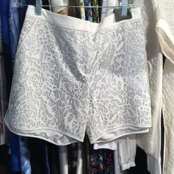 Spring/summer 2012 leather shorts, size 6, $90 (was $1,695)