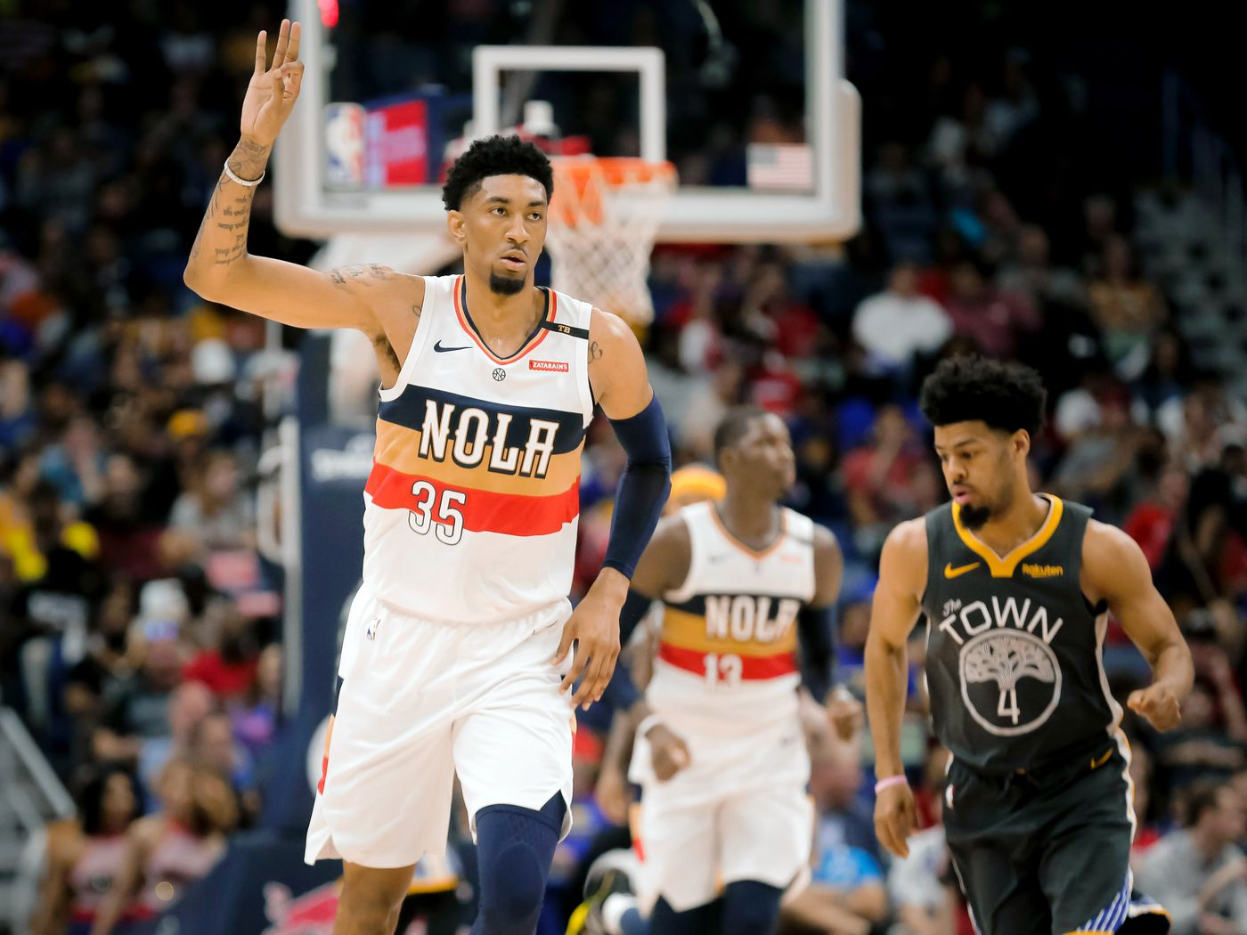 Pistons claim Christian Wood off of waivers from the New Orleans Pelicans -  Detroit Bad Boys