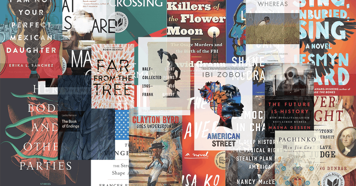We Read 2017s National Book Award Nominees Heres What We Thought