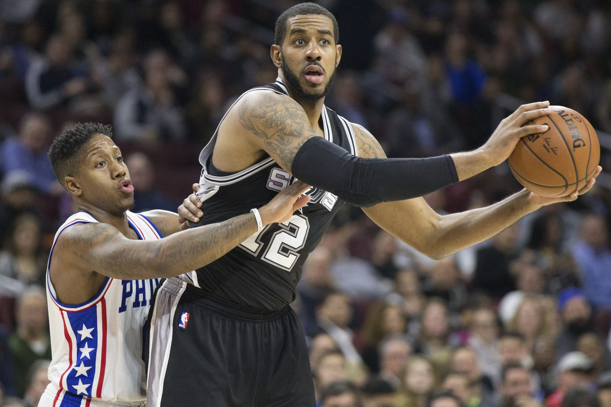 The Spurs show their worth, tower over the Sixers.