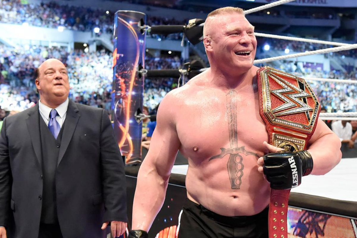Rumor Roundup Brock Lesnar Match Four Horsewomen Nxt On Usa More Cageside Seats