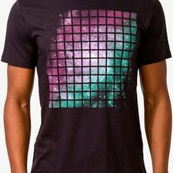 """<strong>21 Men</strong> Celestial Grid Tee, <a href=""""http://www.forever21.com/Product/Product.aspx?BR=21men&Category=m_tees_graphic&ProductID=2034464277&VariantID="""">$15.90</a> at Forever21"""