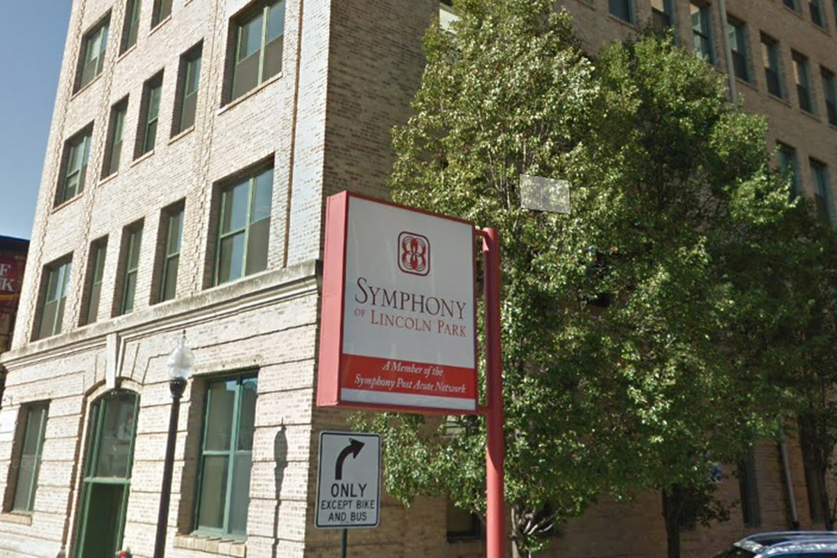 Employees of the Symphony of Lincoln Park nursing home are accused of taking more than $600,000 from a woman who lived there. | Google maps.