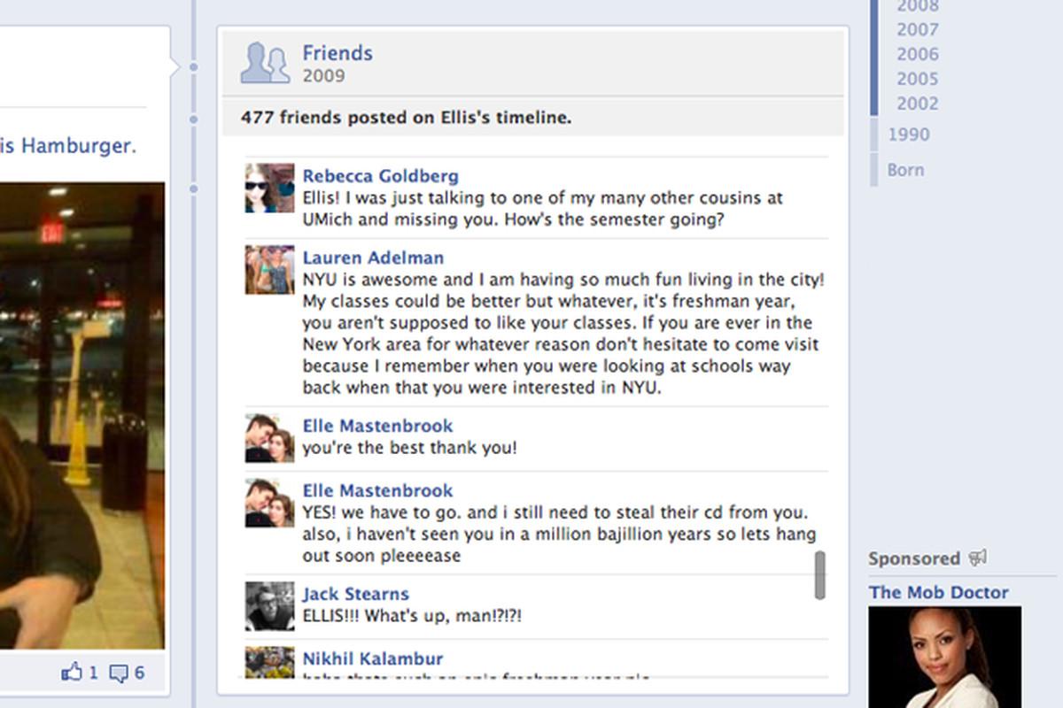 facebook public timeline posts