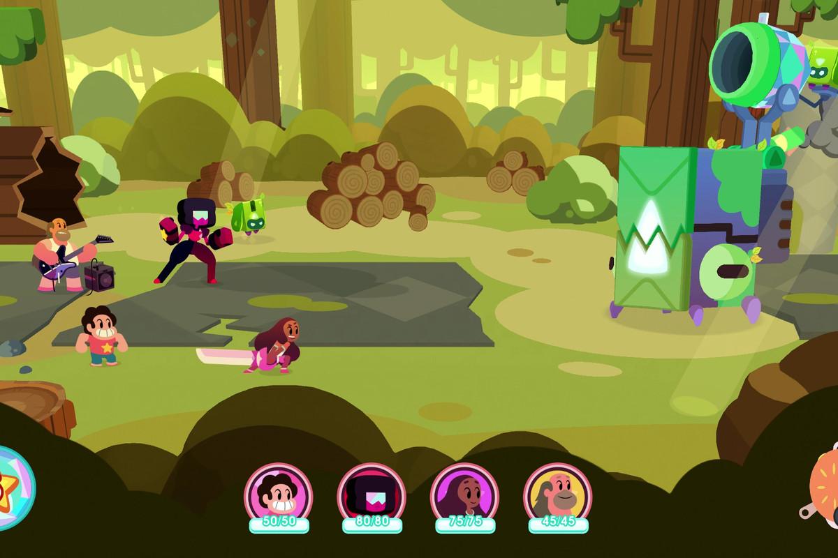 Steven Universe: Save the Light screenshot