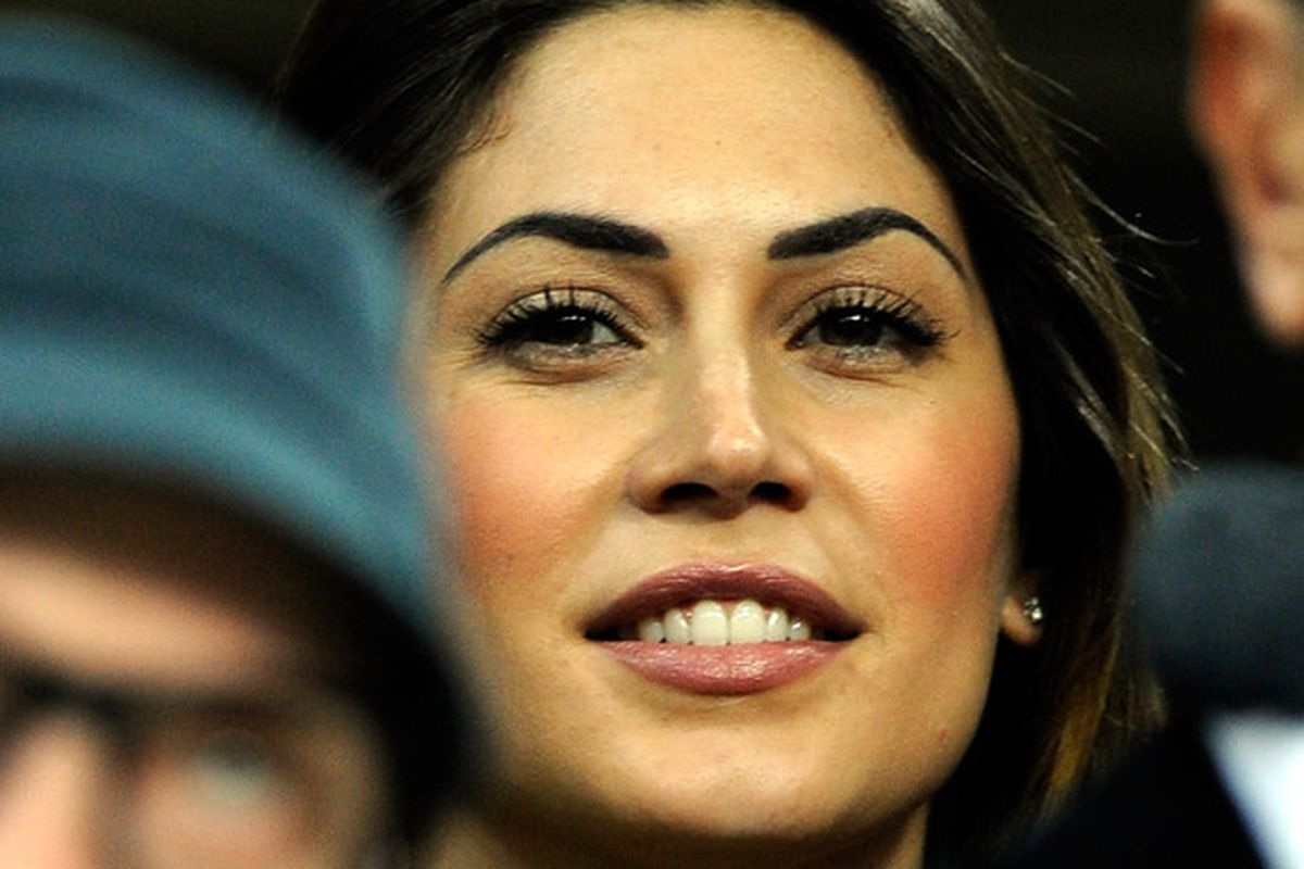 There aren't any pictures of the game, so here's Kevin-Prince Boateng's girlfriend, spotted in the crowd last night
