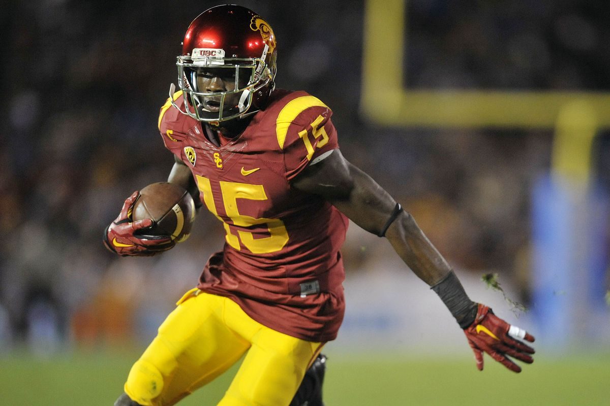 Nelson Agholor emerged as the Trojans' big-play threat.