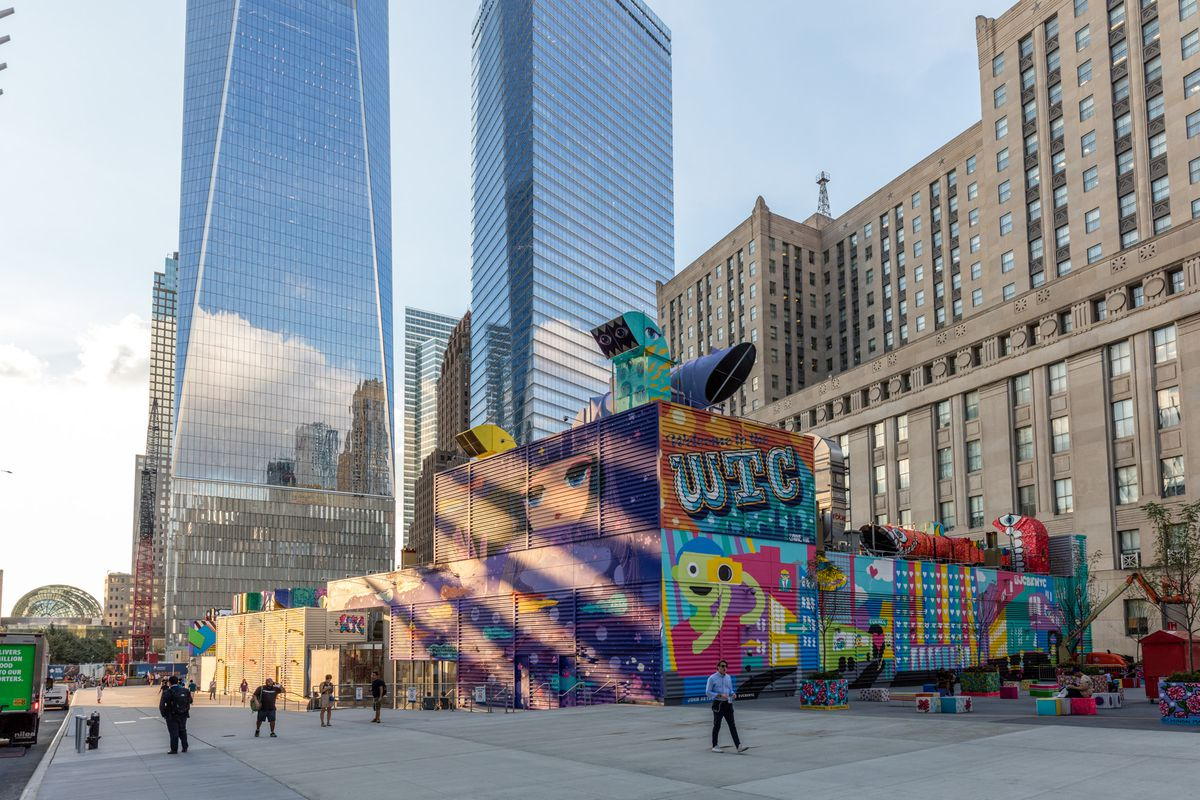 World Trade Center construction in New York City: photos - Curbed NY