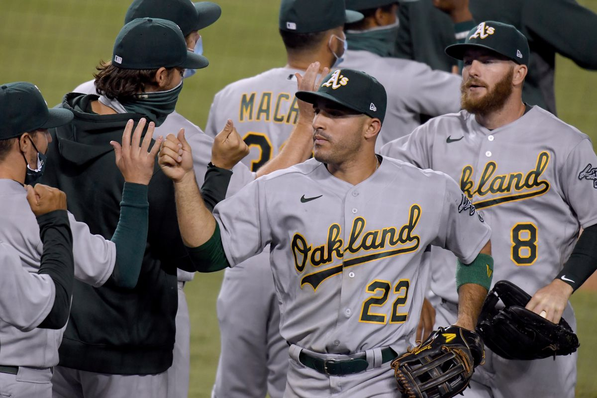 Oakland Athletics v Los Angeles Dodgers