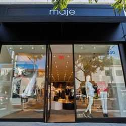 <i>Maje Beverly Hills is open Monday through Wednesday from 10am to 7pm, Thursday from 10am to 8pm, Friday and Saturday from 10am to 7pm, and Sunday from 11am to 6pm.</i>