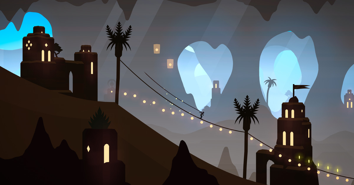 Alto's Odyssey is adding a vibrant new city for its Apple Arcade debut