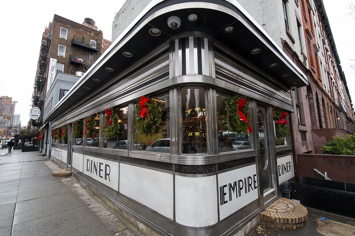 [Empire Diner in 2012]