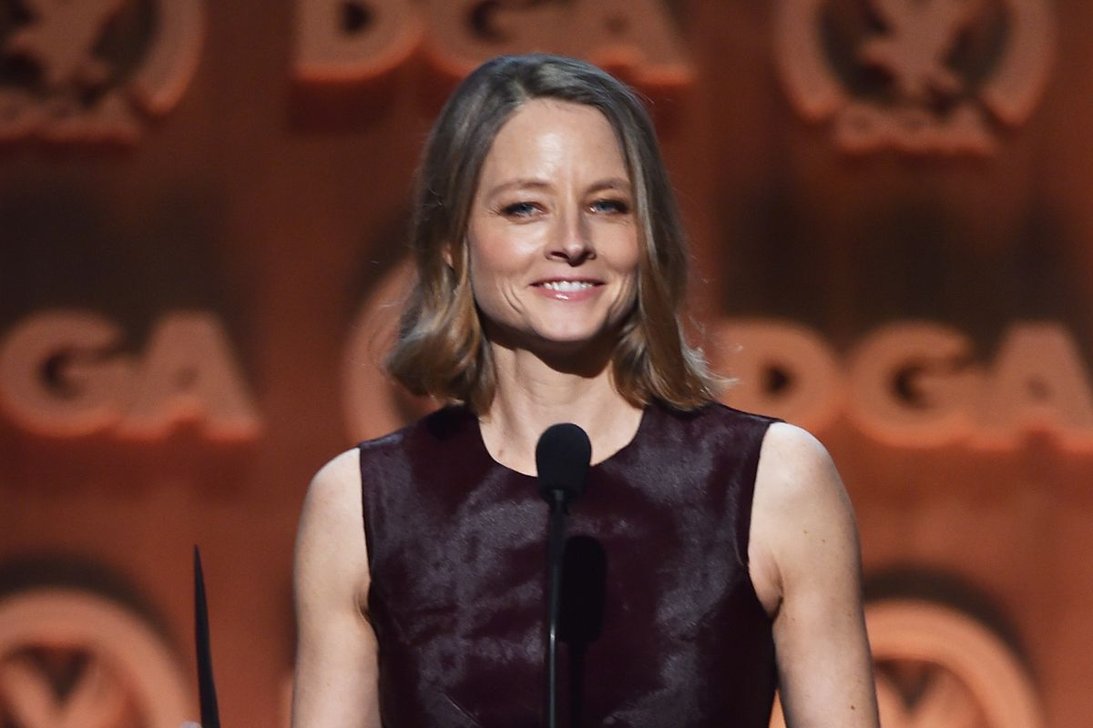"""This is Jodie Foster, star of the movie """"Little Man Tate"""""""