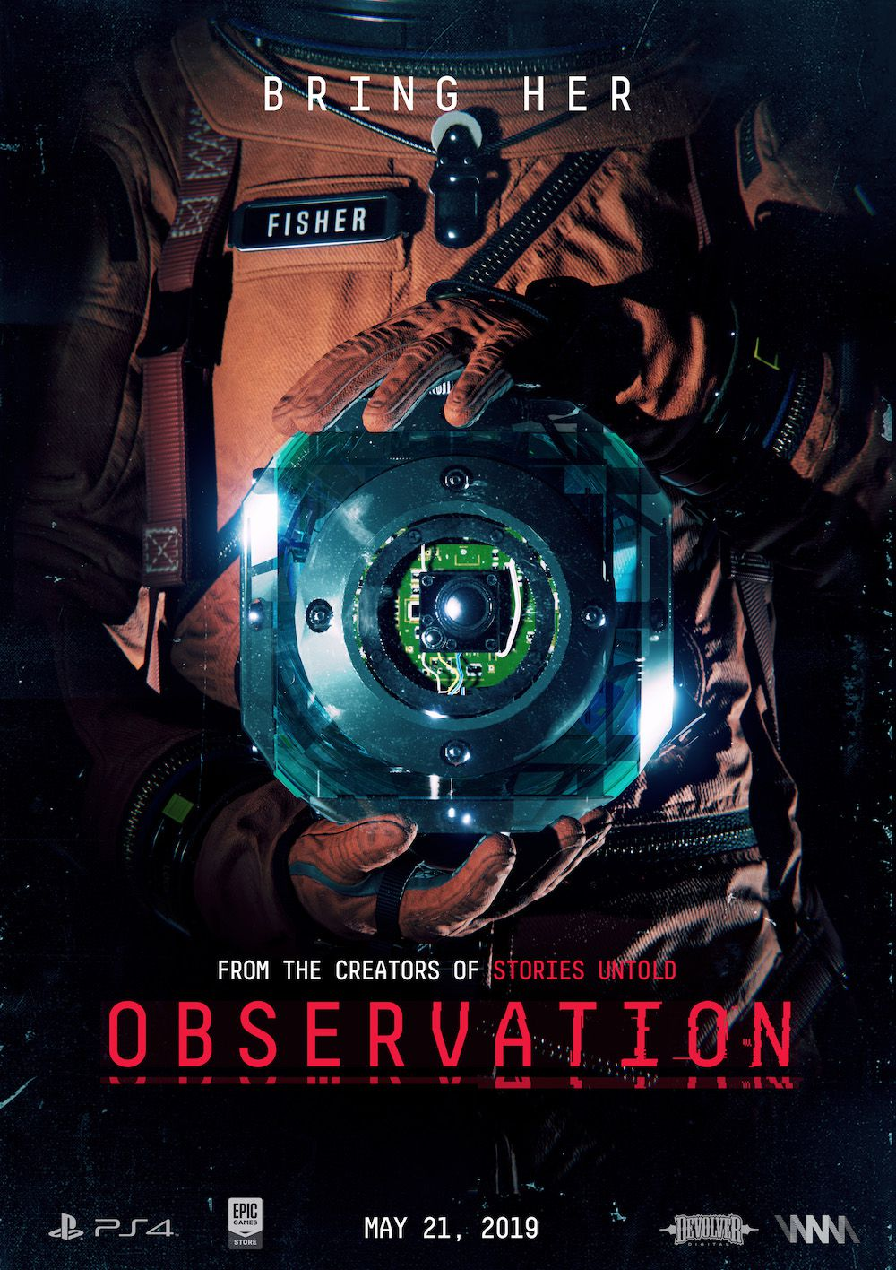 Observation game poster