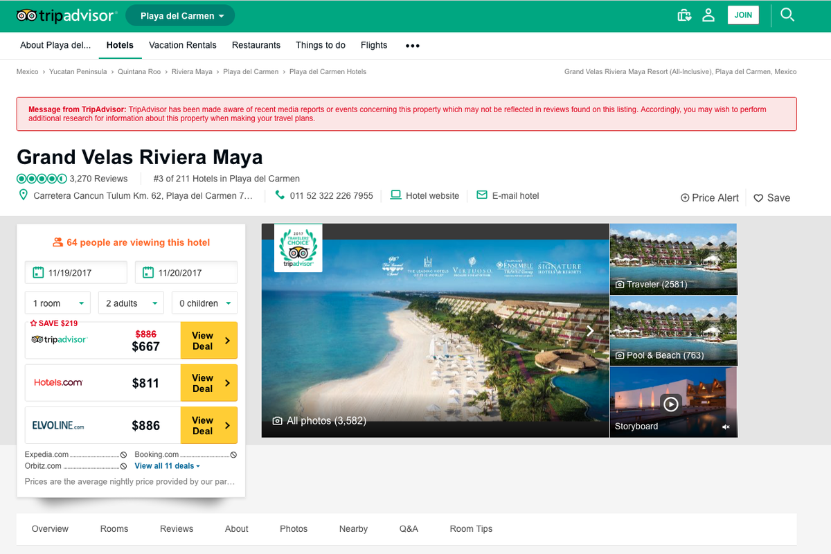 TripAdvisor Now Has A Digital Badge To Mark Hotels Where Sexual Assault Was Reported