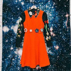 """Vivetta 'Melissa' dress, <a href=""""http://americantwoshot.com/vivetta-melissa-dress"""">$495</a>; Vivetta embroidered shirt, $445"""