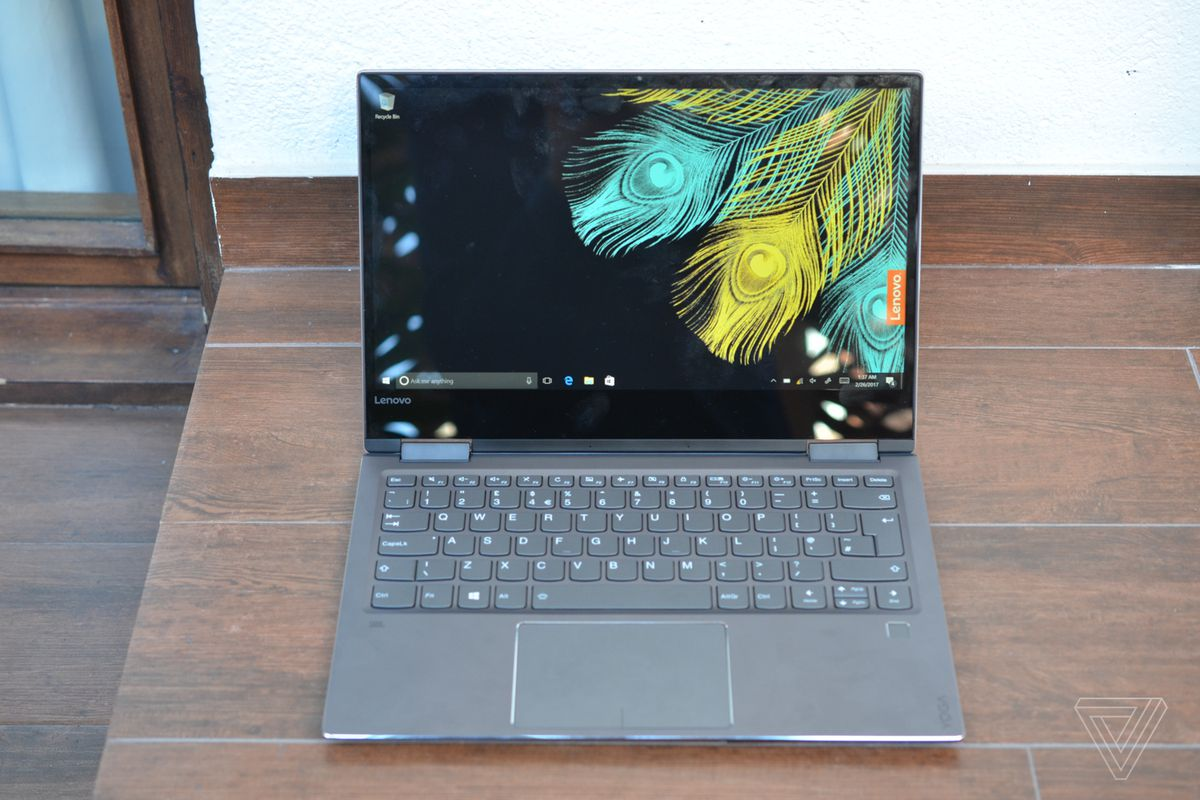Lenovo Brings Fingerprint Readers And Premium Design To Its New Yoga 720 Laptops The Verge
