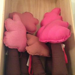 """Stuffed cherry blossom toys, $55 at <a href=""""https://www.facebook.com/M29Lifestyle"""">M29 LIFESTYLE</a>"""