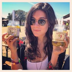 There was a moonshine bar and free jars of Wickles Pickles on every picnic table (I have a serious affinity for pickles).  In short, the whole damn place was like heaven.  After two days in the thick of crazy SXSW, it felt amazing to be in the relative pe