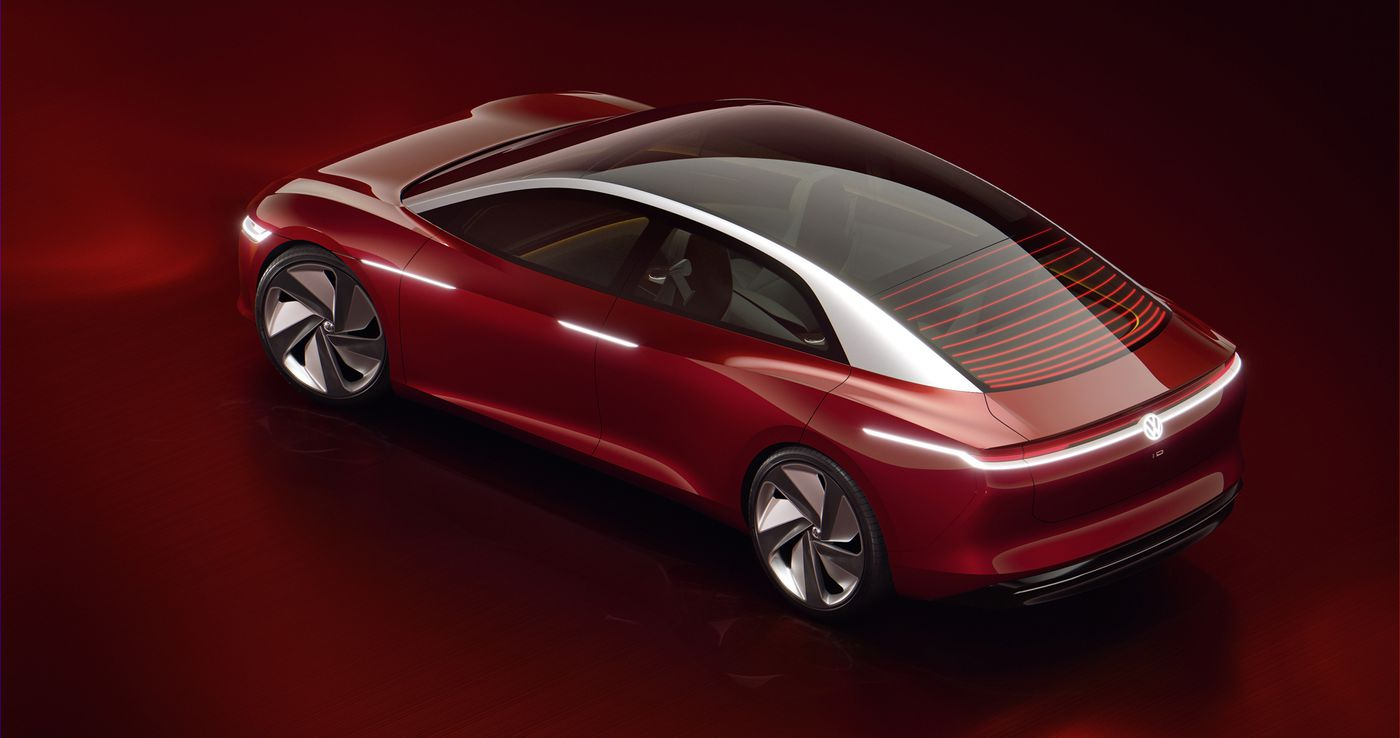 VW's all-electric I D  Vizzion coming 'by 2022' with 400 miles of