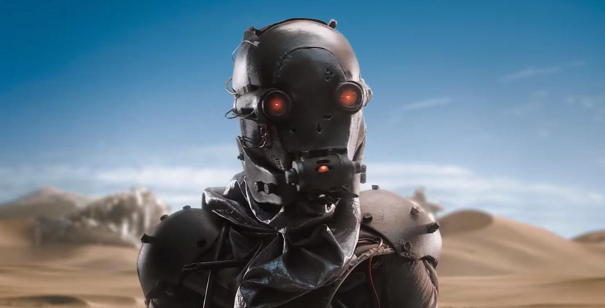 Rage 2 - masked man standing in desert