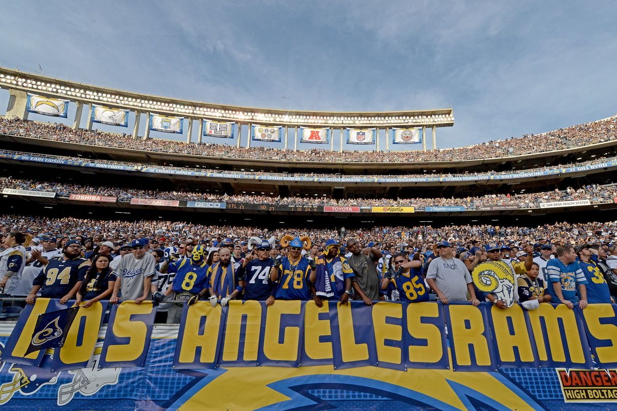St. Louis Rams v San Diego Chargers