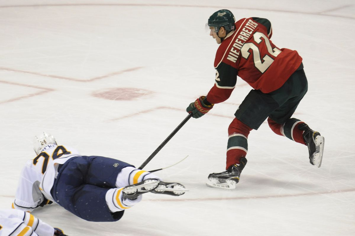 This will be Duluth's first chance to see Nino Niederreiter in action.
