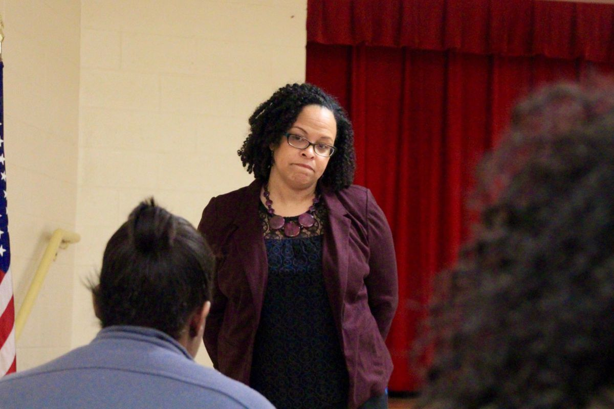 Malika Anderson will leave the state-run district after about two years at its helm.