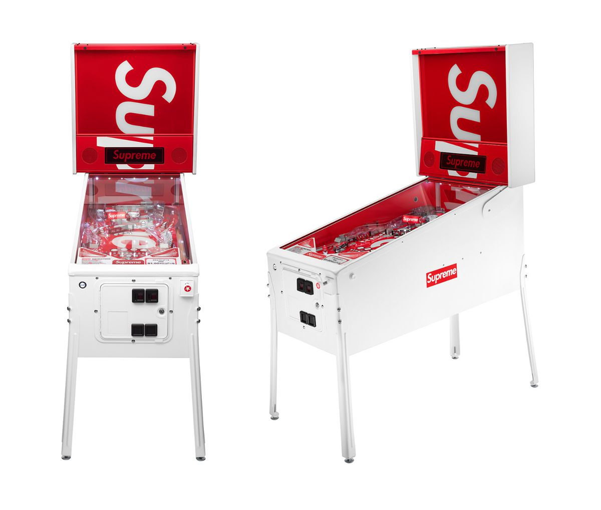 Supreme's Stern pinball machine targets rare demographic of