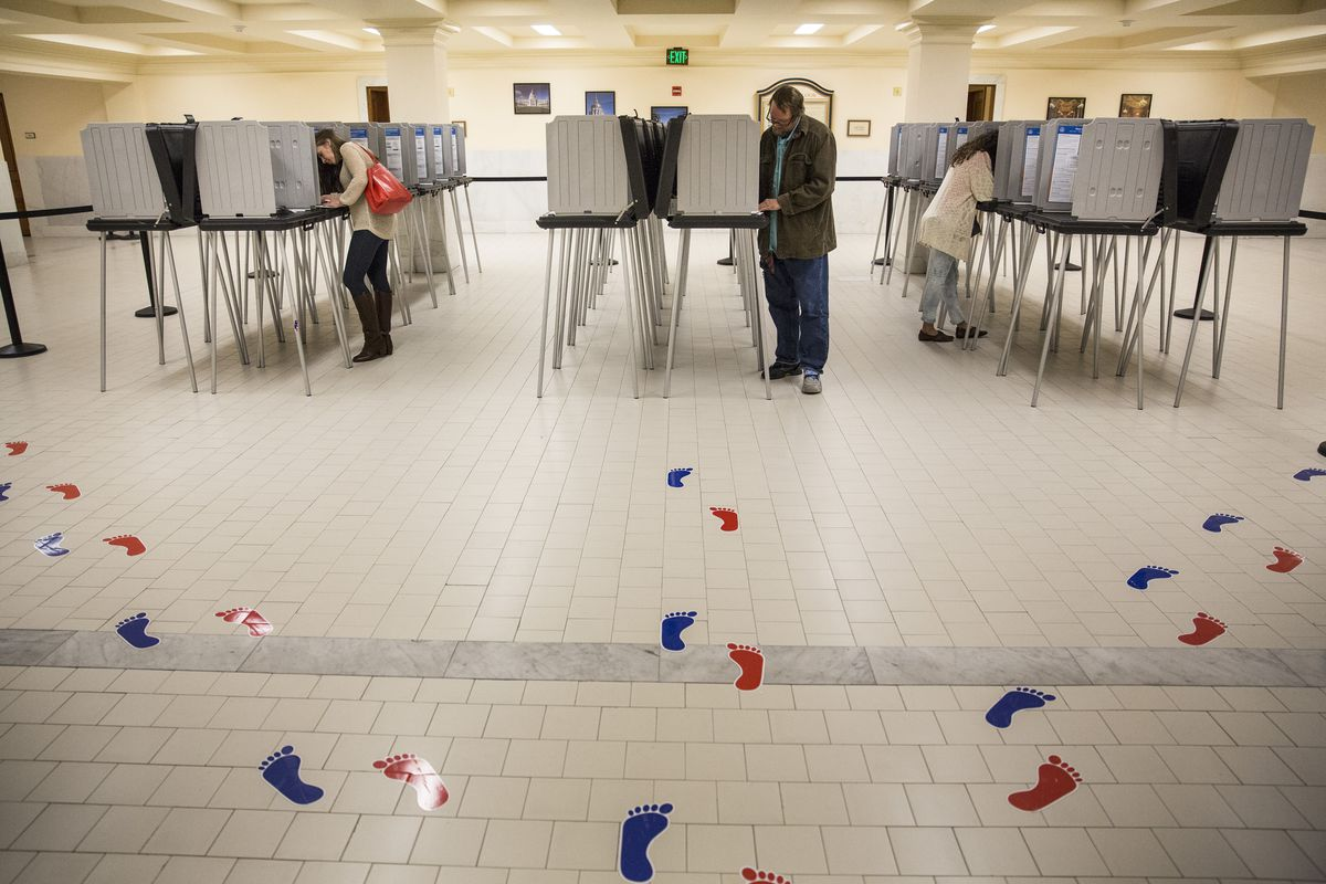 California Voters Go To The Polls In State Primary