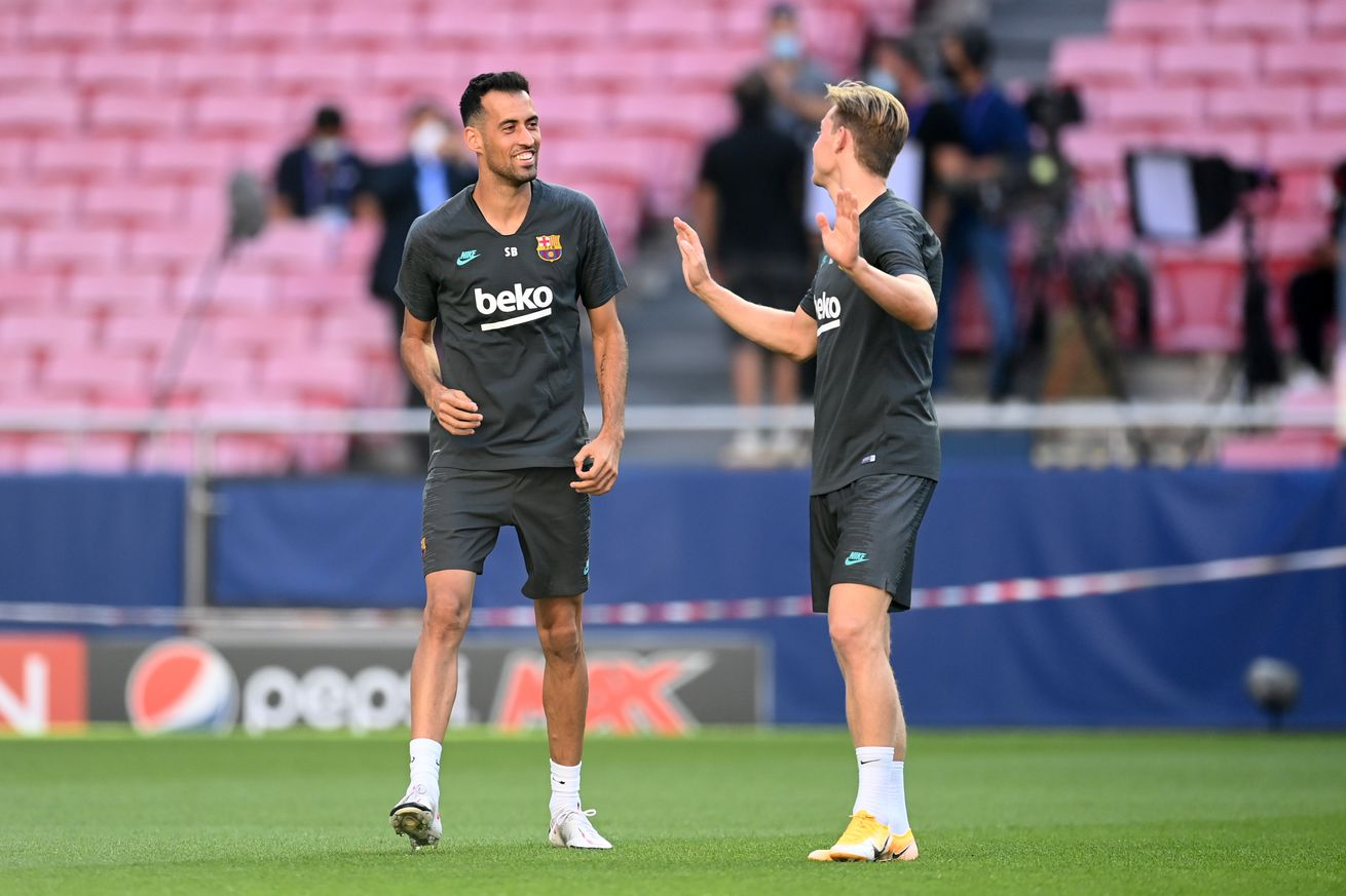 Koeman wants to play with a double pivot at Barca