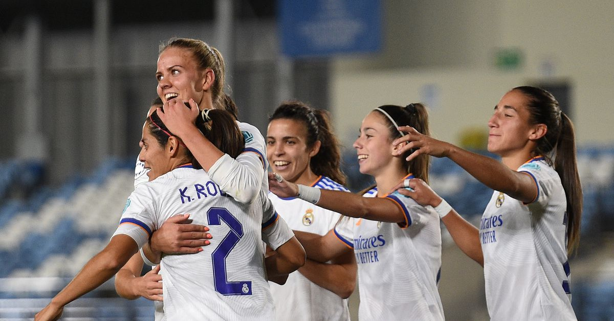Real Madrid Femenino Squad vs. Sevilla - Managing Madrid