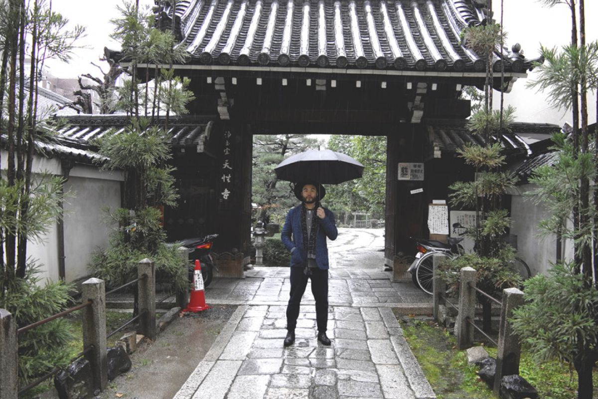 Paul Qui on a recent scouting trip in Japan