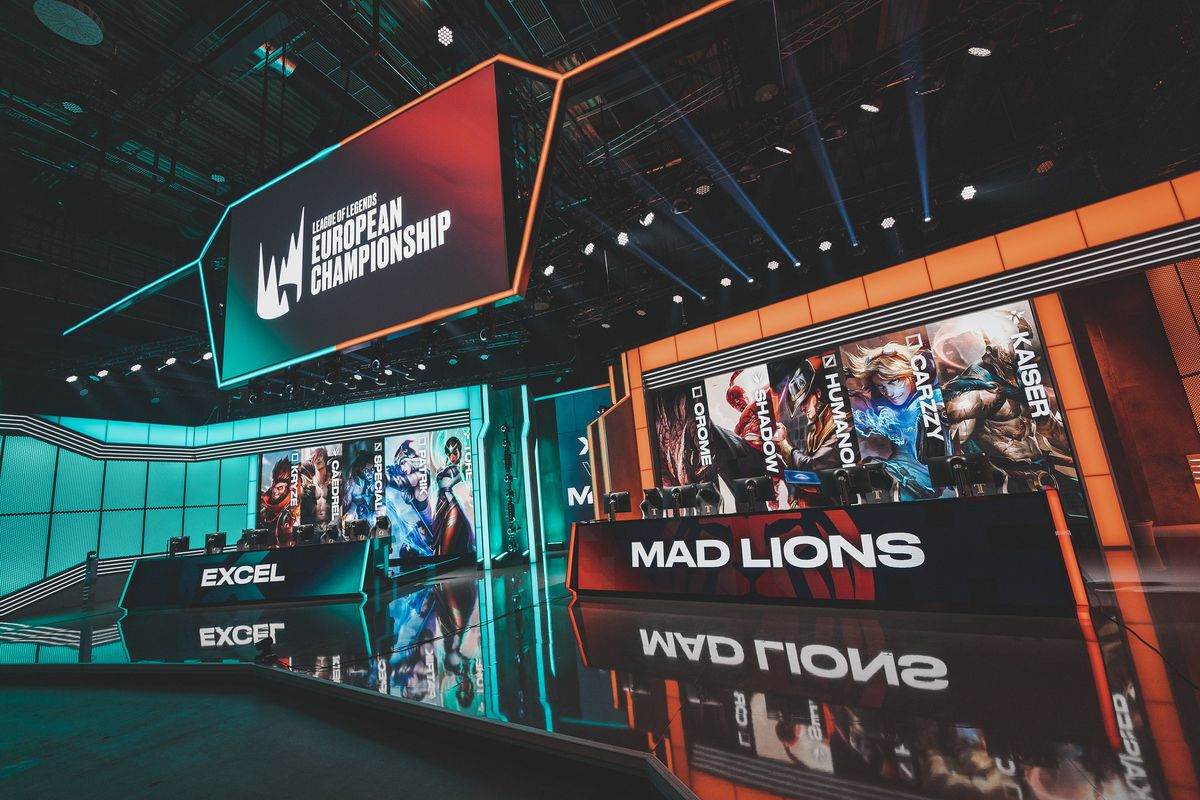 Berlin, Germany - July 17 --- during the 2019 League of Legends European Championship Series Week 5 at the LEC Studio on July 17, 2020 in Berlin Germany