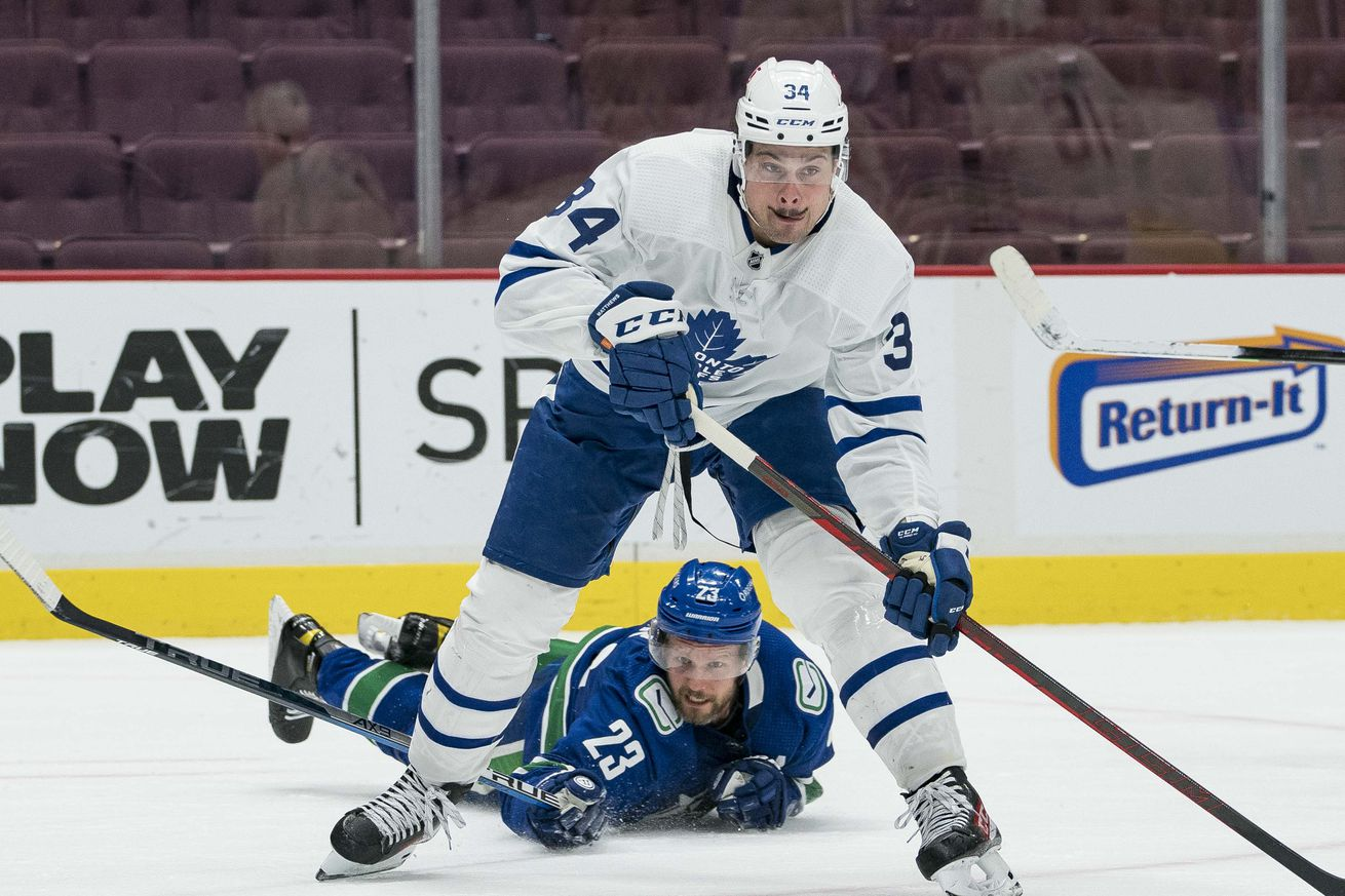 NHL: Toronto Maple Leafs at Vancouver Canucks