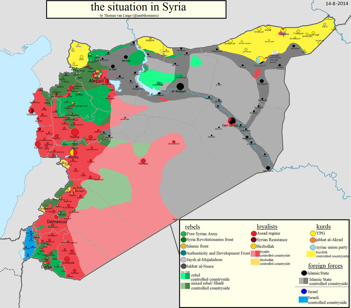 thomas van linge syria map august
