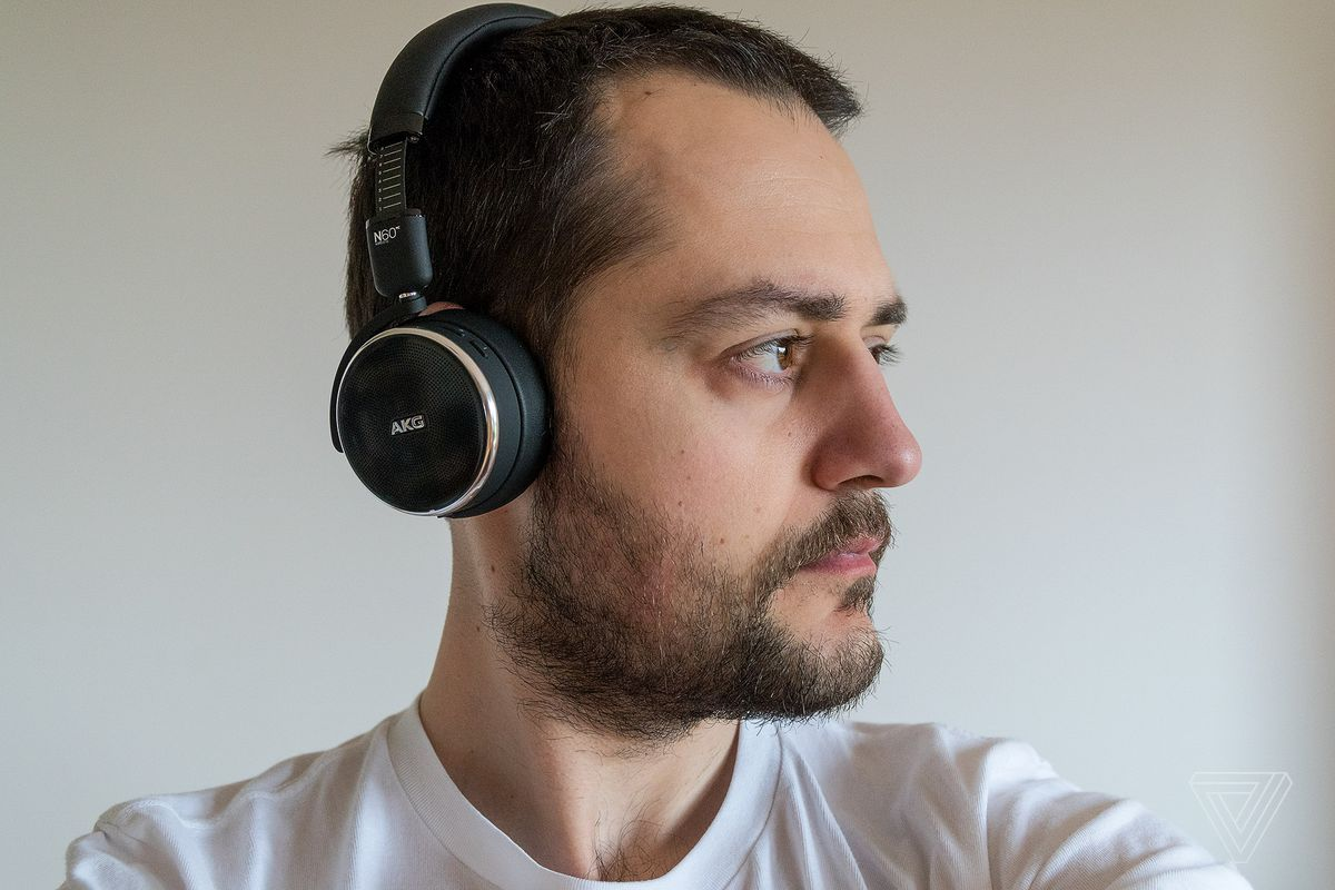 22815969876 AKG's wireless N60 NC headphones are even better than the wired ones ...