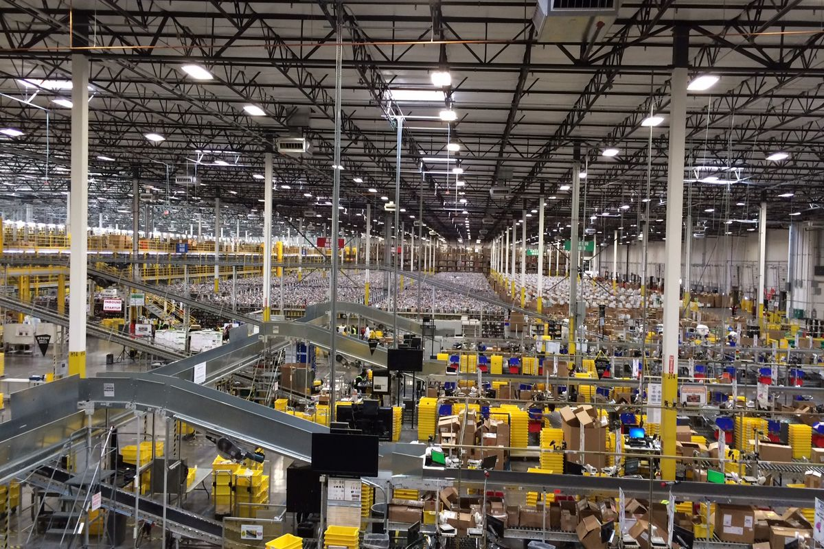 Amazon Worker Was Hospitalized After Warehouse Accident