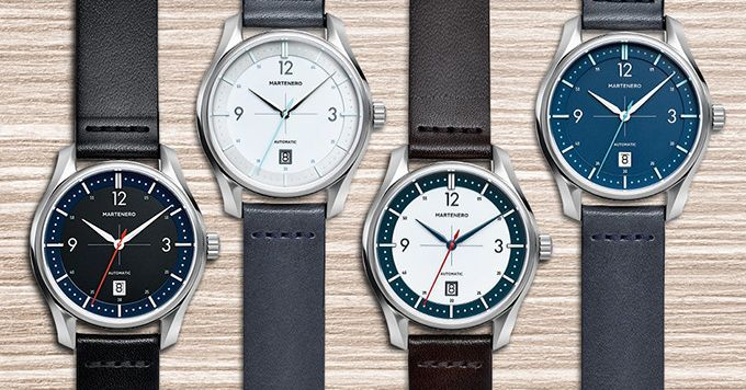 Martenero's latest American-made watch is launching through Kickstarter