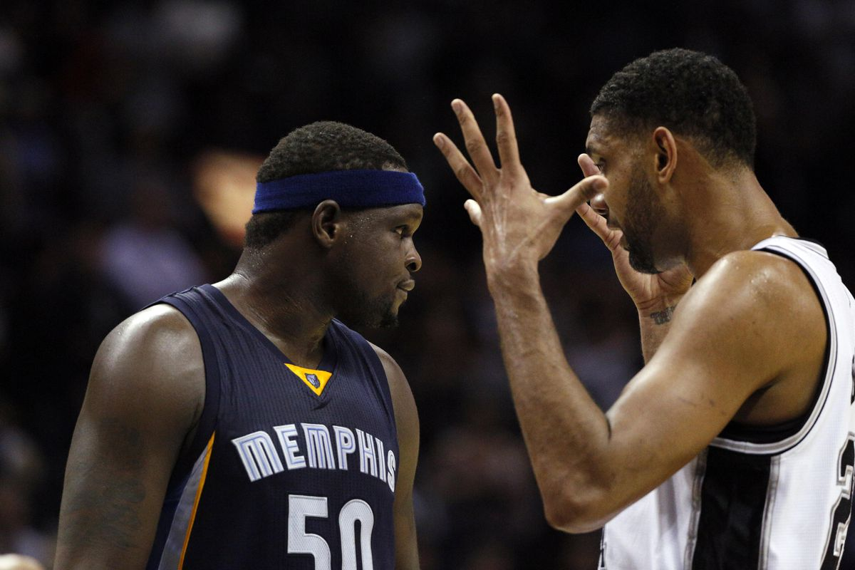 Z-Bo's free throw advice just made Duncan's head explode.