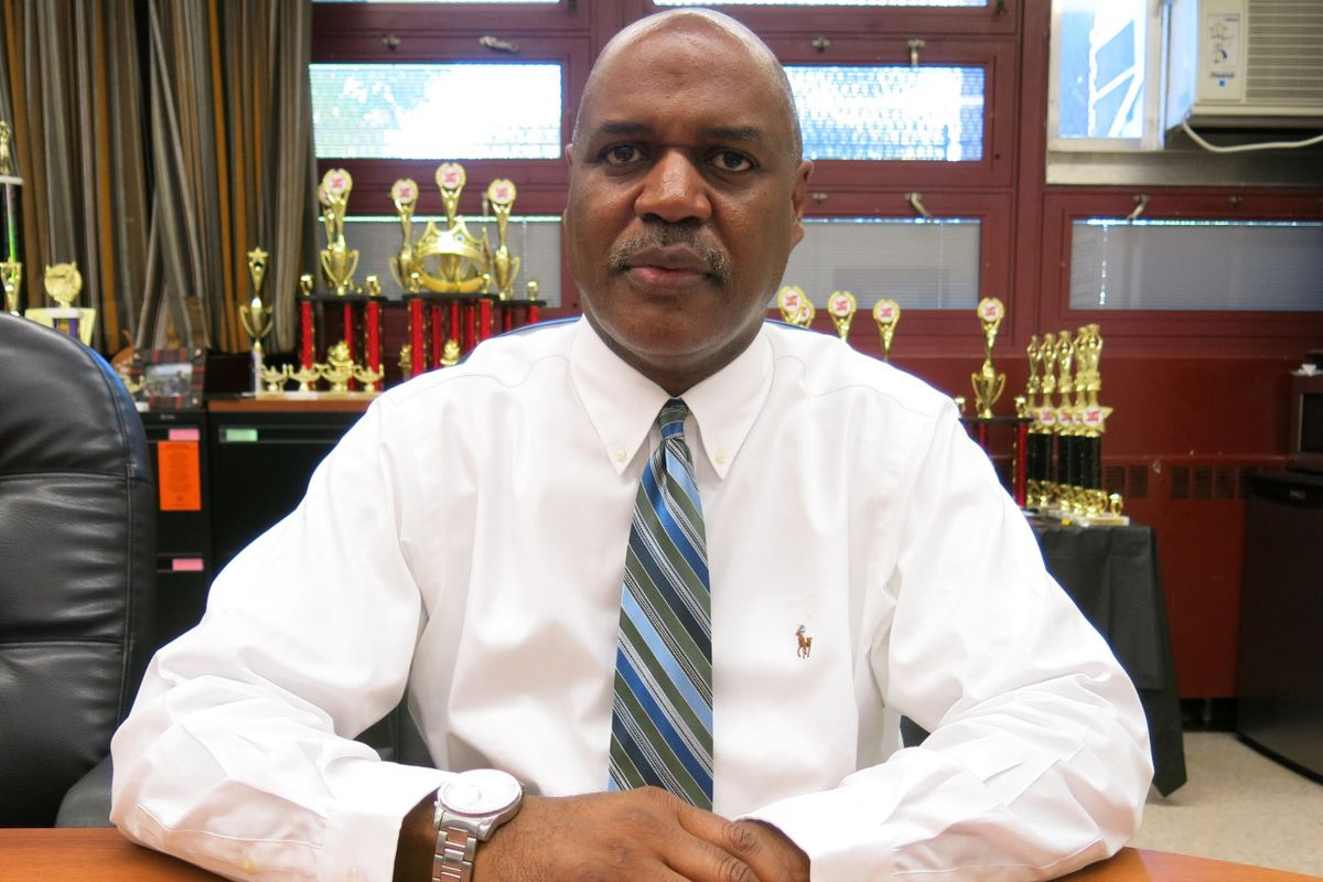 Bernard Gassaway, the principal of Boys and Girls High School, said he is resigning because he does not think the city's plan to improve the school will work.