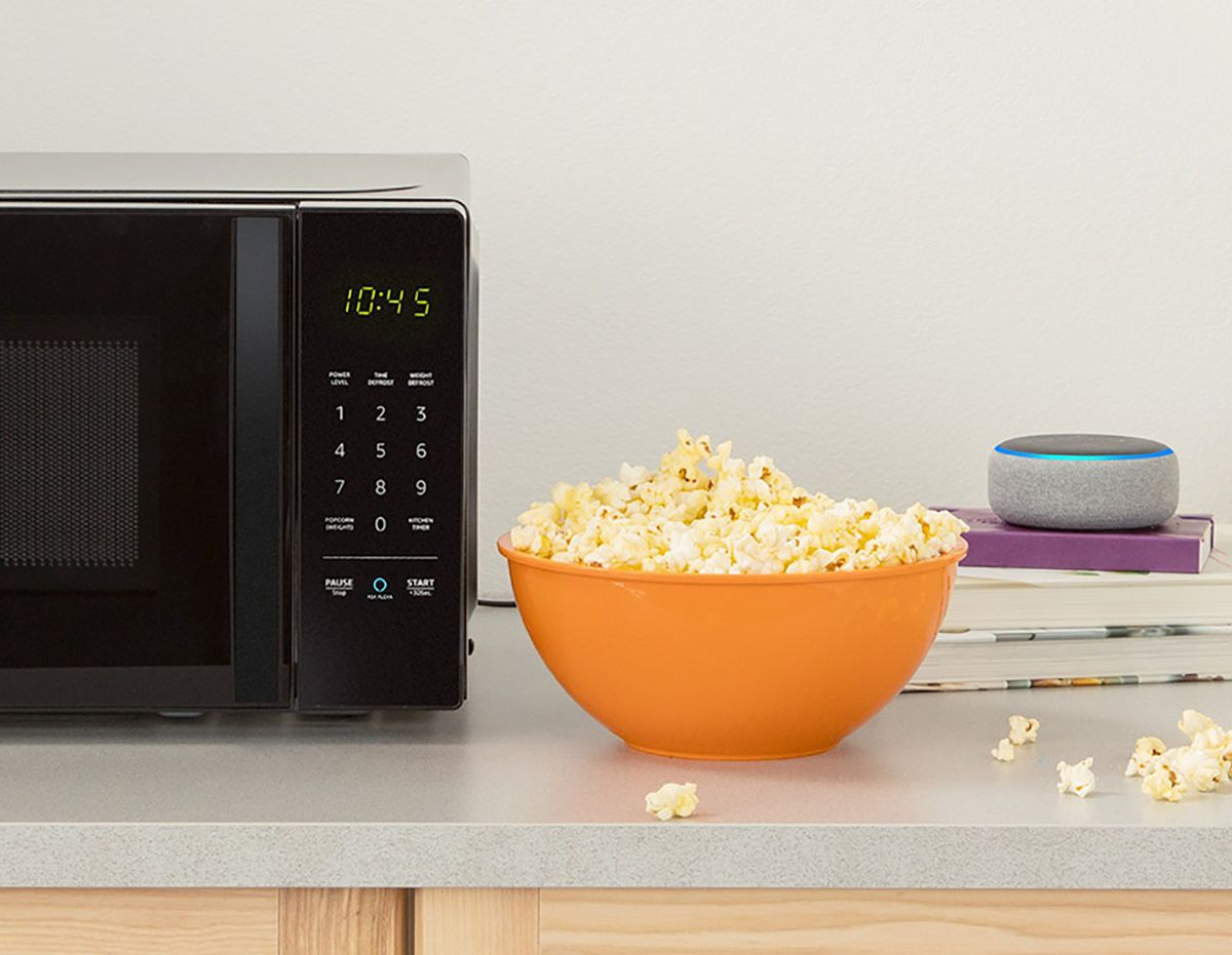 Amazon Announces 60 Alexa Powered Microwave With A Dash Button For Popcorn The Verge