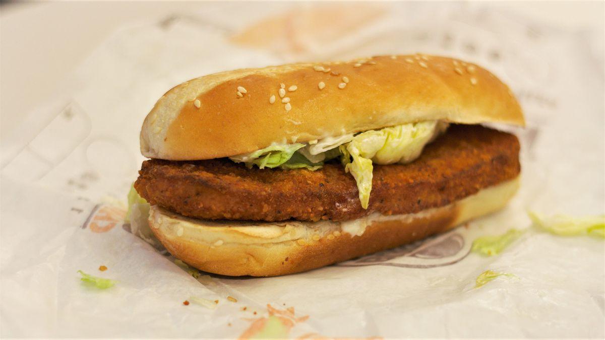21. Original chicken sandwich at Burger King