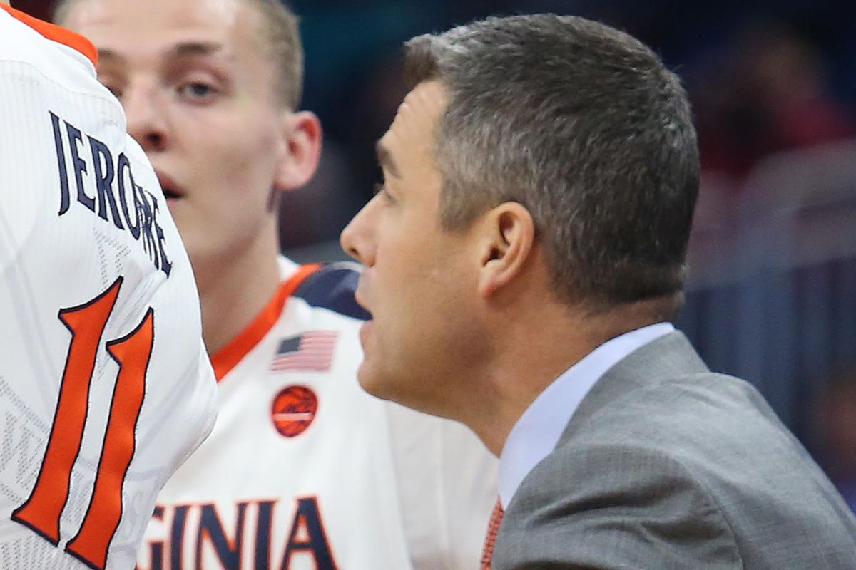Virginia coach Tony Bennett coaches against UNCW during a first round game in the NCAA men's basketball tournament on Thursday, March 16, 2017 at the Amway Center in Orlando, Fla.