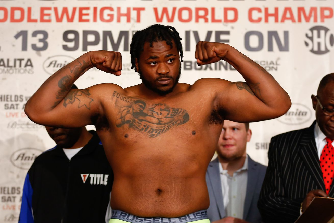 LR SHO WEIGH IN JERMAIN FRANKLIN TRAPPFOTOS 04122019 2710.0 - Franklin and Forrest calling for KOs on July 12 ShoBox