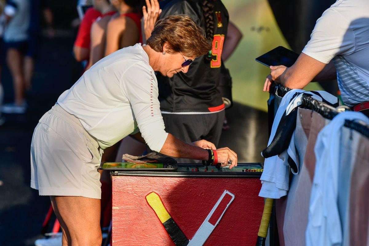 Maryland field hockey Missy Meharg