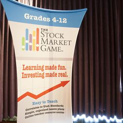 A team of high school students in state juvenile custody has taken first place in The Utah Stock Market Game in Salt Lake City on Friday, May, 13, 2016.